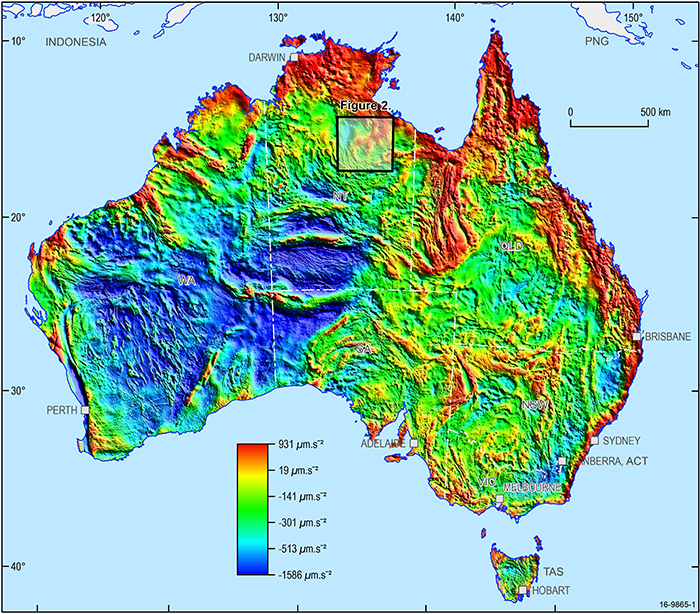 Australia Map Grid.Updated Gravity Datasets Deliver A Treasure Map For Mineral And