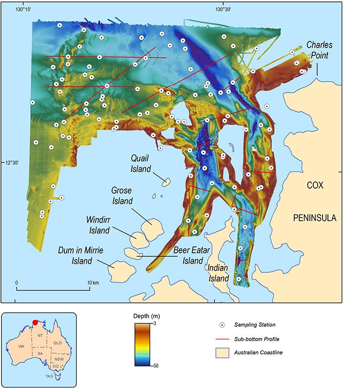 Australia Map Darwin.Exploring The Marine Secrets Of Northern Territory S Bynoe Harbour