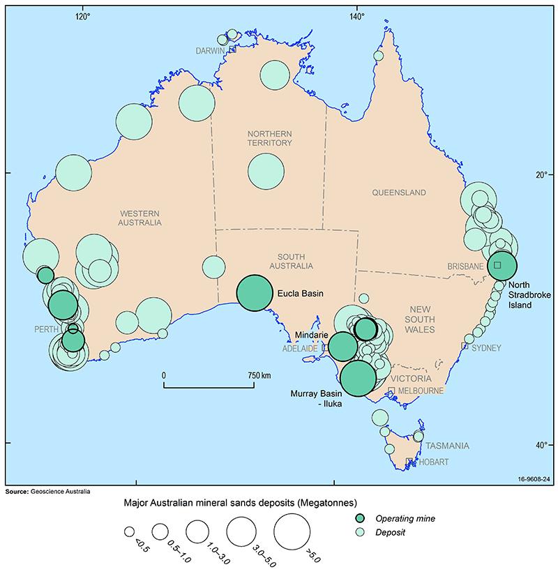Titanium | Geoscience Australia