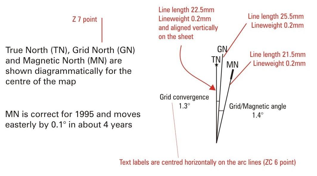 Geoscience Australia Appendix B Ntms Map Layout Guides Manual Guide